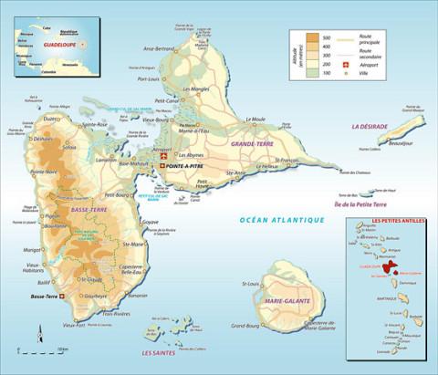 plongée, Guadeloupe