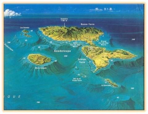 Les îles de la Guadeloupe, PPK plongée, plong, dive center