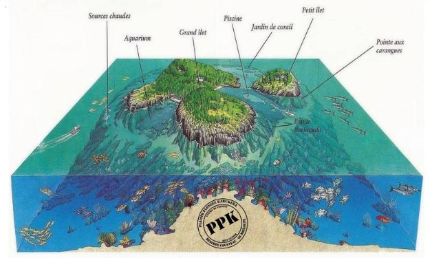 Plongée Guadeloupe, Réserve Cousteau, Îlets Pigeon
