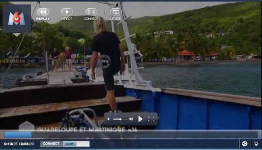 PPK Plongée Guadeloupe sur M6