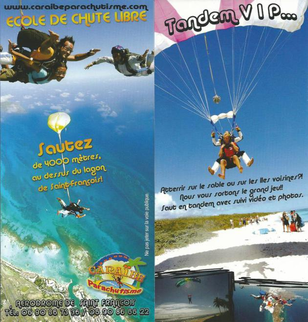 PPK Plongée Guadeloupe en chute libre